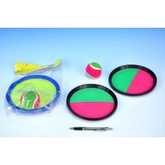 Lambáda/Catch ball hra 20cm asst 2 barvy v sáčku
