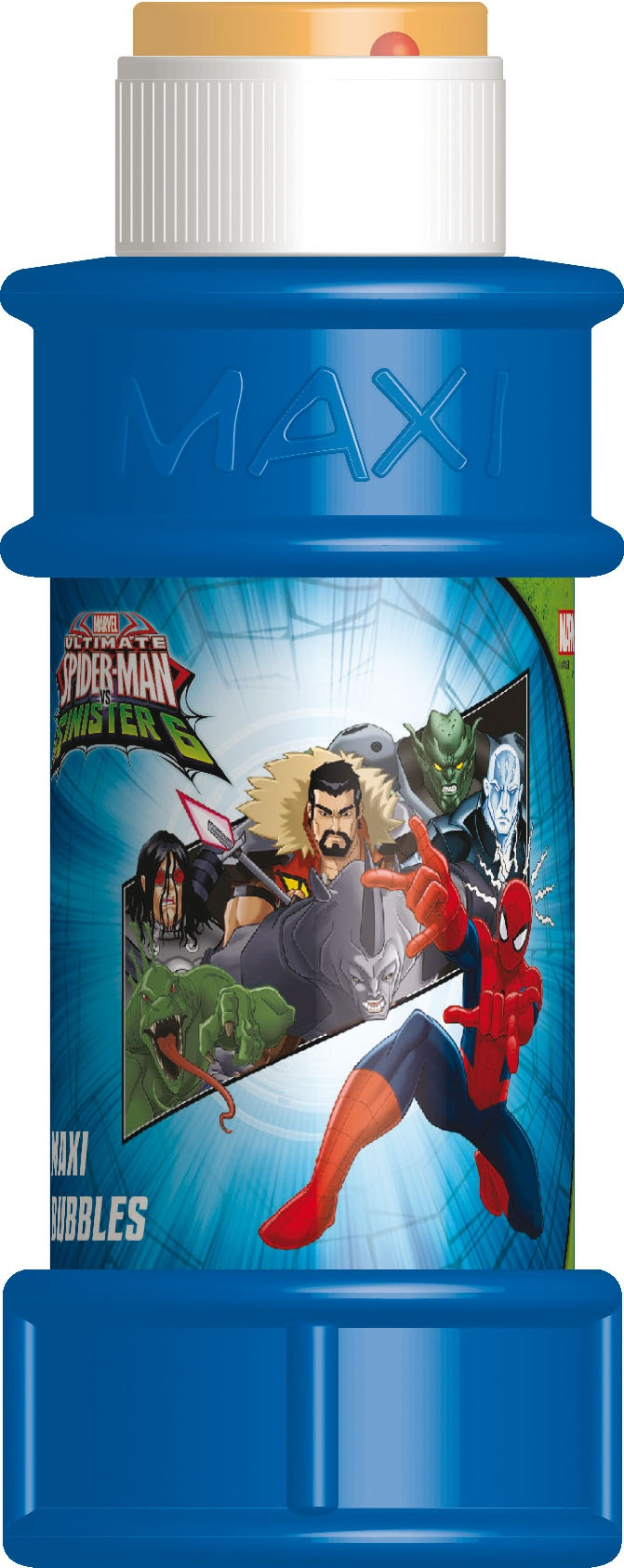 Bublifuk Spider-man 175ml (display 16 ks)