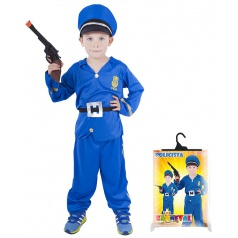 Dětský karnevalový kostým Policista velikost S