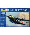 Revell Plastic ModelKit letadlo 03998 - C160 Transall (1:220)