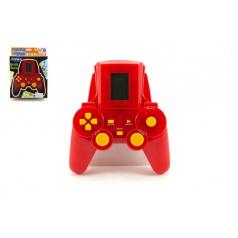 Digitální hra Brick Game Tetris hlavolam plast asst 2 barvy v krabici 17x23x5cm