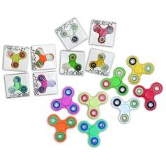 Hand Fidget Spinner luxusní spiner antistresová hračka s kovovými ložisky
