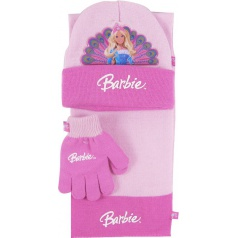 """Zimní souprava """"Barbie"""" růžová"""