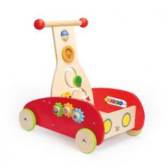 Hape Chodítko Auto, červené