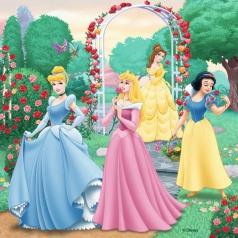 Ravensburger dětské puzzle  Disney Princezny 3 x 49d