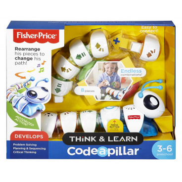 Fisher Price DKT39 PS HOUSENKA CODE-A-PILLAR