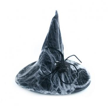Rappa Klobouk s pavučinou dospělý čarodějnice / Halloween