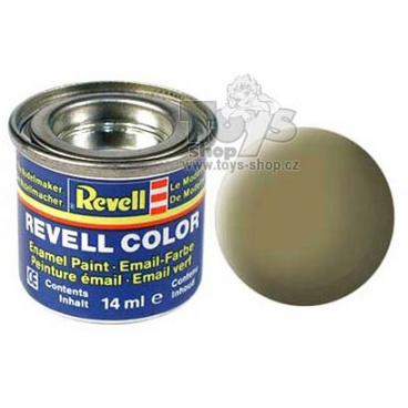 Revell emailová barva 32142 matná žlutá olivová