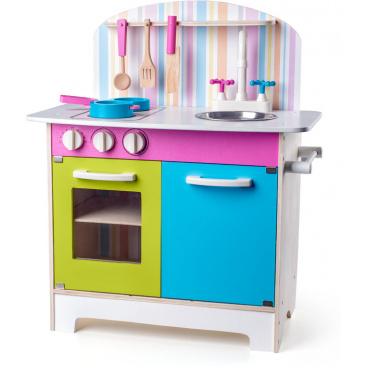 Woody 91875  Kuchyňka Julia, proužkovaná