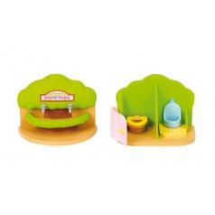 Sylvanian Families 4720 Přenosná toaleta a umývárka pro školky
