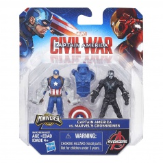 Hasbro Captain America - 2 figurky TEAM VS TEAM