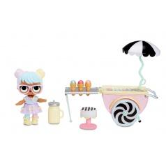 MGA L.O.L. Nábytok s bábikou Asst, PDQ, vlna 1