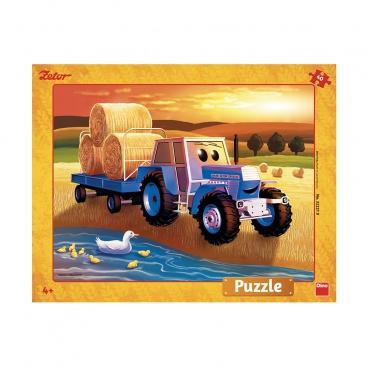 DINO puzzle Zetor: Žně deskové 40D