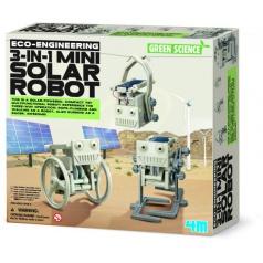 Solární roboti 3v1