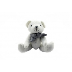 Medvídek plyš 23cm asst 2 barvy v sáčku
