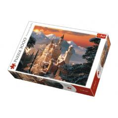 Trefl Puzzle Zimní zámek Neuschwanstein 3000 dílků 116x85cm v krabici 40x27x9cm