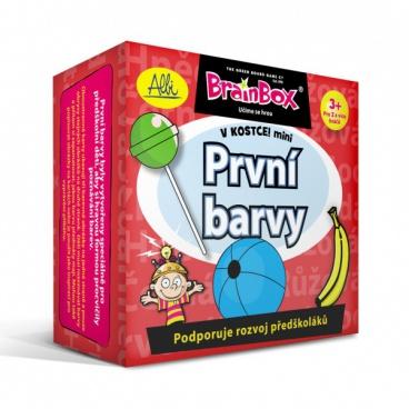 ALBI hra Brainbox V kostce! mini - První barvy