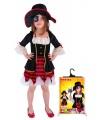 dětský karnevalový kostým pirátka deluxe velikost L