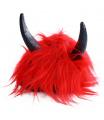 Rappa Paruka čert červená s rohy