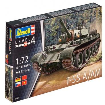 Revell Plastic ModelKit tank 03304 - T-55A/AM (1:72)