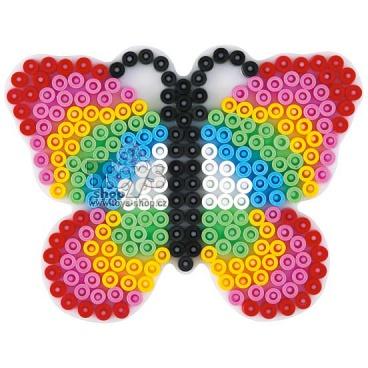 HAMA zažehlovací korálky - MIDI podložka motýl