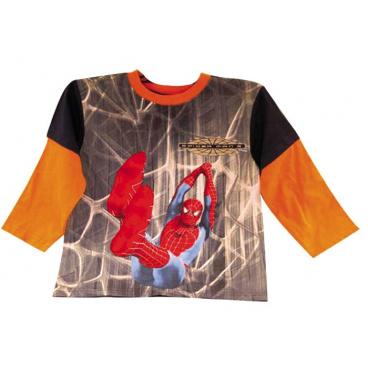 """Tričko dl. rukáv """"Spiderman na pavučině"""", vel. 4#4"""