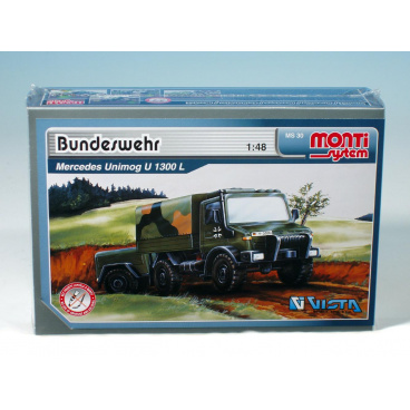 MONTI SYSTEM 30 stavebnice vozidla Bundeswehr