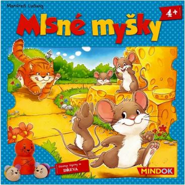 Mindok  hra - Mlsné myšky