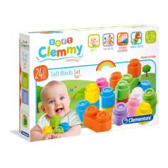 Clementoni Clemmy - mäkké kocky, 24 ks