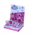 Rappa Korunka princezna s náušnicemi růžová