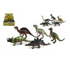 Dinosaurus plast 20cm asst
