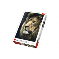 Trefl Puzzle Lev 1500 dílků 58x85cm v krabici 26x40x6cm