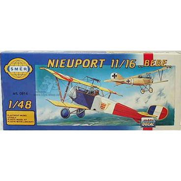 Směr Model Nieuport 11/16 Bebe 12,9x16,2cm v krabici 31x13,5x3,5cm