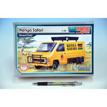 Monti System Stavebnica Monti 04 Kenya Safari Renault Trafic 1:48 v krabici