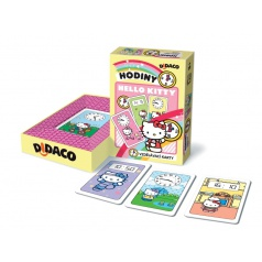 Bonaparte Didaco Barvy Hello Kitty vzdělávací karty v krabičce 10x15x3cm