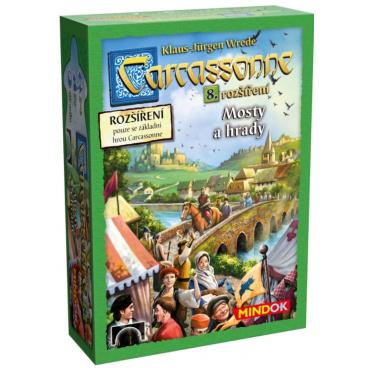 Mindok Carcassonne Hrady a Mosty - 8. rozšíření