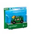 Brio 33966 Vagónek a lev