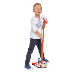 Simba My Music World dětský mikrofon se stojanem, i pro MP3