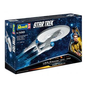 Revell Plastic ModelKit Star Trek 04882 - U.S.S. Enterprise NCC-1701 INTO DARKNESS (1:500)