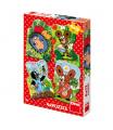 Dino dětské puzzle Krteček 4x12D