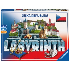 Ravensburger hra Labyrint Česká Republika