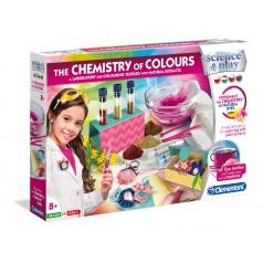 Clementoni Dětská laboratoř - Sada barevná chemie