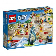 Lego City 60153 Sada postav - Zábava na pláži