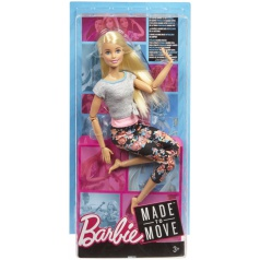 Mattel Barbie V POHYBU ASST různé druhy