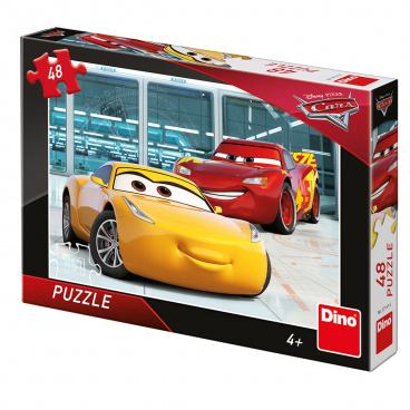 Dino dětské puzzle WD Cars 3: Příprava 48D