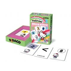 Bonaparte Didaco Hello Kitty Počítání vzdělávací karty v krabičce 10x15x3cm