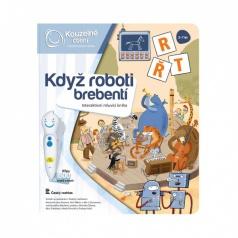 Albi Kouzelné čtení Kniha Když roboti brebentí