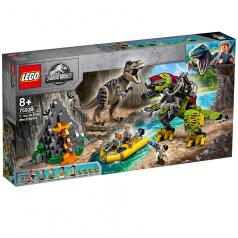 Lego 75938 Jurassic World T. rex vs. Dinorobot
