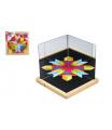 Magnetická tabulka se zrcadly dřevo 25x25x2,1cm