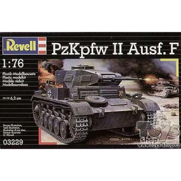 Revell 03229 Plastic ModelKit tank  - PzKpfw II Ausf.F (1:76)